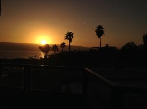Sunrise over Sea of Galilee