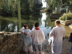 Baptism at the Jordan River