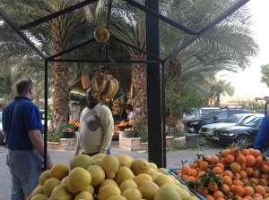 Jericho fruit market