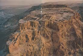 masada was located on top of the mountain