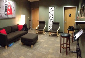 No one in Green Room